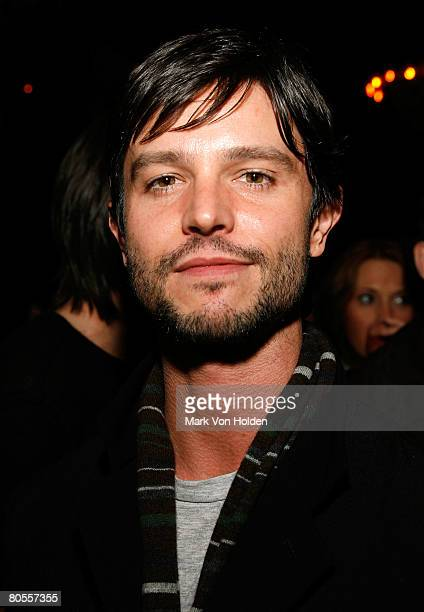 Actor Jason Behr attends the after party for the 13th Annual Gen Art Film Festival 'Kill the Day' premiere at the Bowery Hotel April 7 2008 in New...