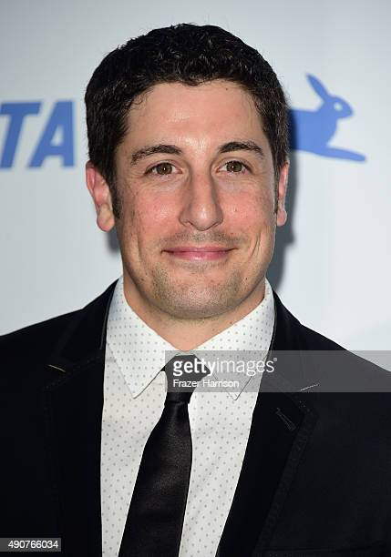 Actor Jason Biggs arrives at PETA's 35th Anniversary Party at Hollywood Palladium on September 30 2015 in Los Angeles California