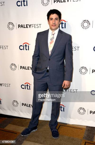Actor Jason Biggs arrives at The Paley Center For Media's PaleyFest 2014 Honoring 'Orange Is The New Black' at Dolby Theatre on March 14 2014 in...
