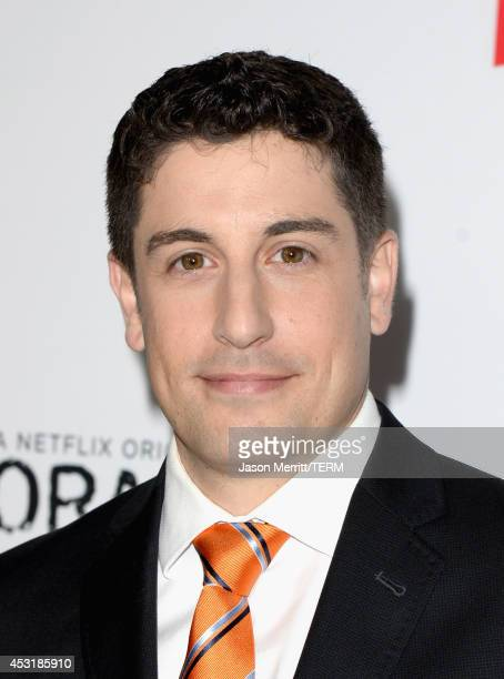 Actor Jason Biggs attends Netflix's 'Orange is the New Black' panel discussion at Directors Guild Of America on August 4 2014 in Los Angeles...