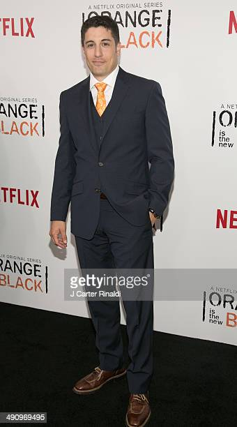 Actor Jason Biggs attends 'Orange Is The New Black' Season Two Series premiere at Ziegfeld Theater on May 15 2014 in New York City