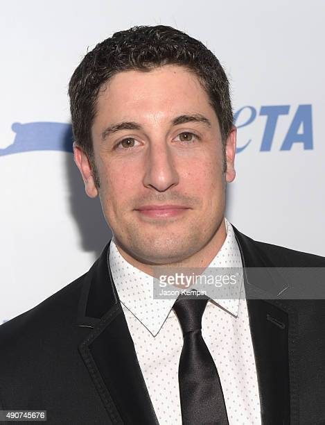 Actor Jason Biggs attends PETA's 35th Anniversary Party at Hollywood Palladium on September 30 2015 in Los Angeles California