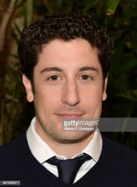 Actor Jason Biggs attends the 14th annual AFI Awards Luncheon at the Four Seasons Hotel Beverly Hills on January 10 2014 in Beverly Hills California