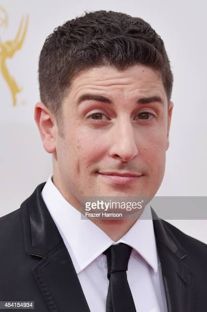 Actor Jason Biggs attends the 66th Annual Primetime Emmy Awards held at Nokia Theatre LA Live on August 25 2014 in Los Angeles California