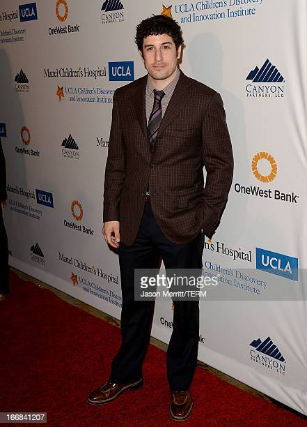 Actor Jason Biggs attends The Kaleidoscope Ball Designing The Future benefitting the UCLA Children's Discovery and Innovation Institute at Mattel...