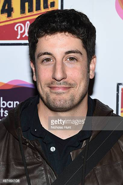Actor Jason Biggs attends Urban Arts Partnership at the 15th annual The 24 Hour Plays On Broadway after party at BB King on November 16 2015 in New...