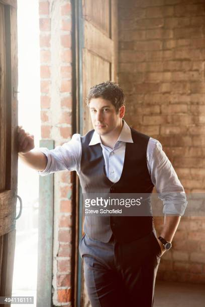 Actor Jason Biggs is photographed for Emmy Magazine in Los Angeles California