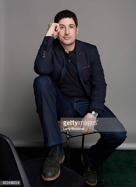 Actor Jason Biggs poses for a portrait during the Juror Welcome Lunch at the 2016 Tribeca Film Festival on April 14 2016 in New York City