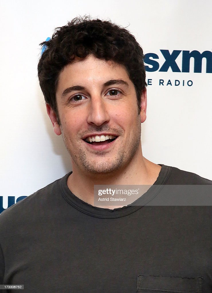 Actor <a gi-track='captionPersonalityLinkClicked' href=/galleries/search?phrase=Jason+Biggs+-+Actor&family=editorial&specificpeople=210701 ng-click='$event.stopPropagation()'>Jason Biggs</a> visits 'News & Notes' on Entertainment Weekly Radio at SiriusXM Studios on July 11, 2013 in New York City.