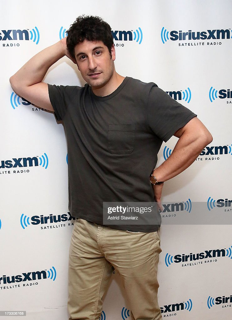 Actor Jason Biggs visits 'News & Notes' on Entertainment Weekly Radio at SiriusXM Studios on July 11, 2013 in New York City.