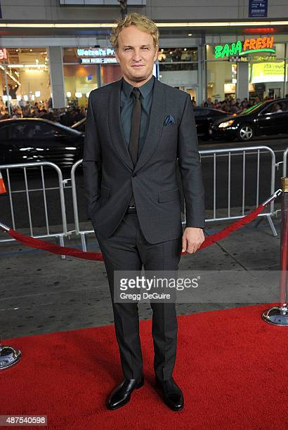 Actor Jason Clarke arrives at the premiere of Universal Pictures' 'Everest' at TCL Chinese 6 Theatres on September 9 2015 in Hollywood California