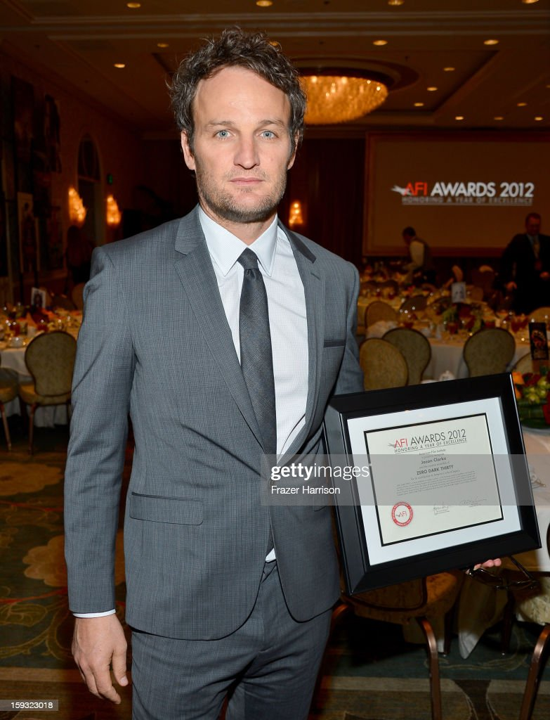 Actor Jason Clarke attends the 13th Annual AFI Awards at Four Seasons Los Angeles at Beverly Hills on January 11, 2013 in Beverly Hills, California.