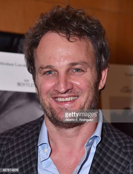 Actor Jason Clarke attends the premiere of Amplify's 'The Better Angels' at DGA Theater on October 27 2014 in Los Angeles California