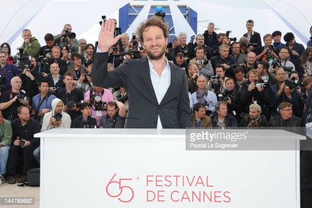 Actor Jason Clarke poses at the 'Lawless' photocall during the 65th Annual Cannes Film Festival at Palais des Festivals on May 19 2012 in Cannes...