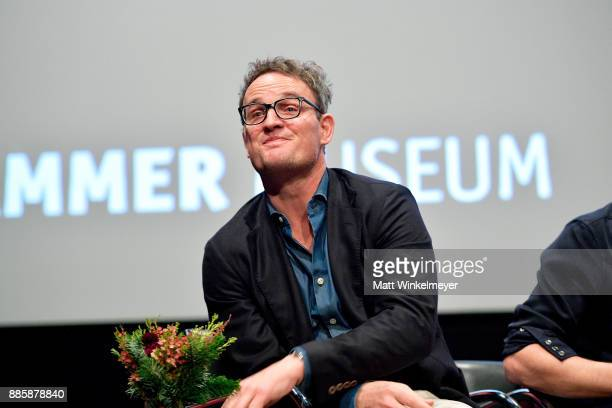 Actor Jason Clarke speaks onstage during the Hammer Museum presents The Contenders 2017 'Mudbound' at Hammer Museum on December 4 2017 in Los Angeles...