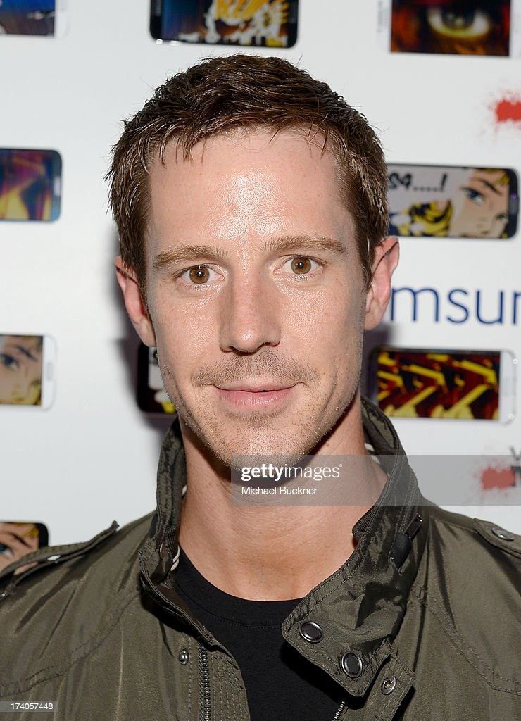 Actor <a gi-track='captionPersonalityLinkClicked' href=/galleries/search?phrase=Jason+Dohring&family=editorial&specificpeople=631070 ng-click='$event.stopPropagation()'>Jason Dohring</a> attends the after party for Veronica Mars at The Samsung Galaxy Experience on July 19, 2013 in San Diego, California.