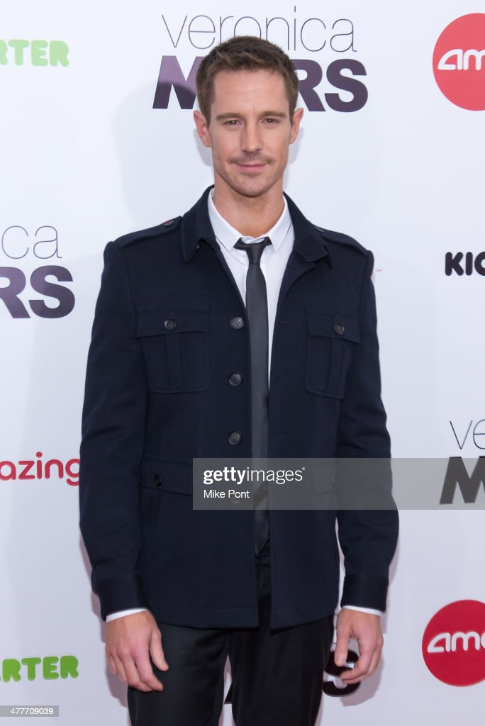 Actor <a gi-track='captionPersonalityLinkClicked' href=/galleries/search?phrase=Jason+Dohring&family=editorial&specificpeople=631070 ng-click='$event.stopPropagation()'>Jason Dohring</a> attends the 'Veronica Mars' screening at AMC Loews Lincoln Square on March 10, 2014 in New York City.