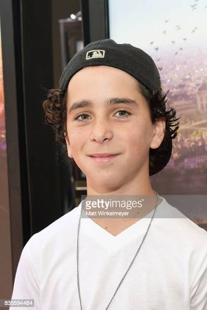 Actor Jason Drucker attends the Weinstein Company's 'LEAP' at The Grove on August 19 2017 in Los Angeles California