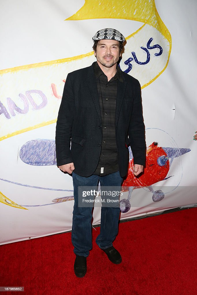Actor Jason Gedrick attends the 'Stand Up For Gus' Benefit at Bootsy Bellows on November 13, 2013 in West Hollywood, California.