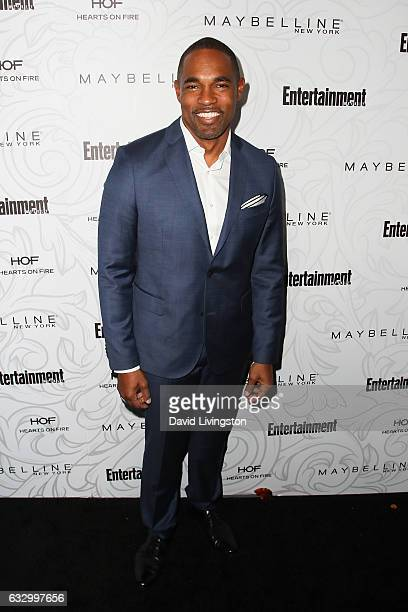 Actor Jason George arrives at the Entertainment Weekly celebration honoring nominees for The Screen Actors Guild Awards at the Chateau Marmont on...