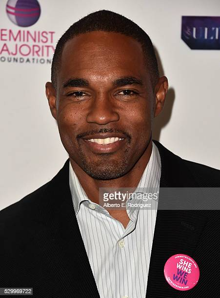 Actor Jason George attends the 11th Annual Global Women's Rights Awards at the Directors Guild of America on May 09 2016 in Los Angeles California