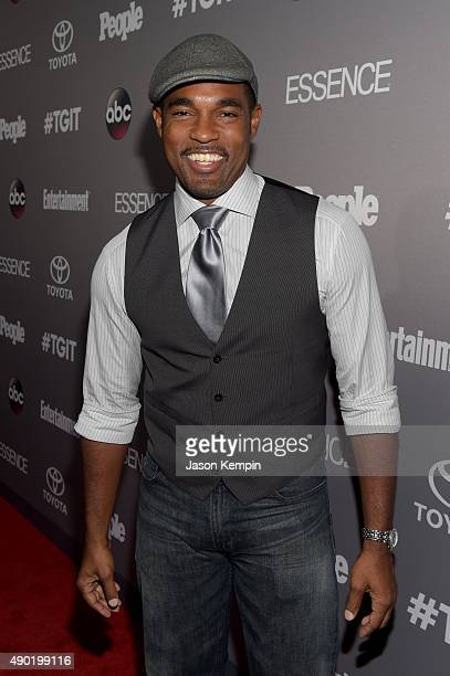 Actor Jason George attends the Celebration of ABC's TGIT Lineup presented by Toyota and cohosted by ABC and Time Inc's Entertainment Weekly Essence...