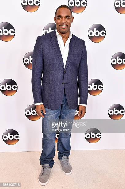Actor Jason George attends the Disney ABC Television Group TCA Summer Press Tour on August 4 2016 in Beverly Hills California