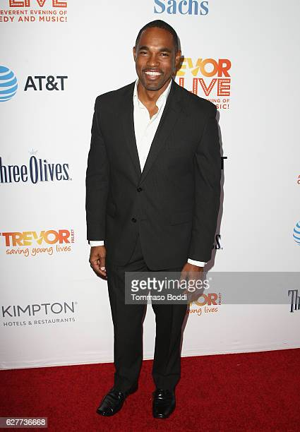 Actor Jason George attends The Trevor Project's 2016 TrevorLIVE LA at The Beverly Hilton Hotel on December 4 2016 in Beverly Hills California