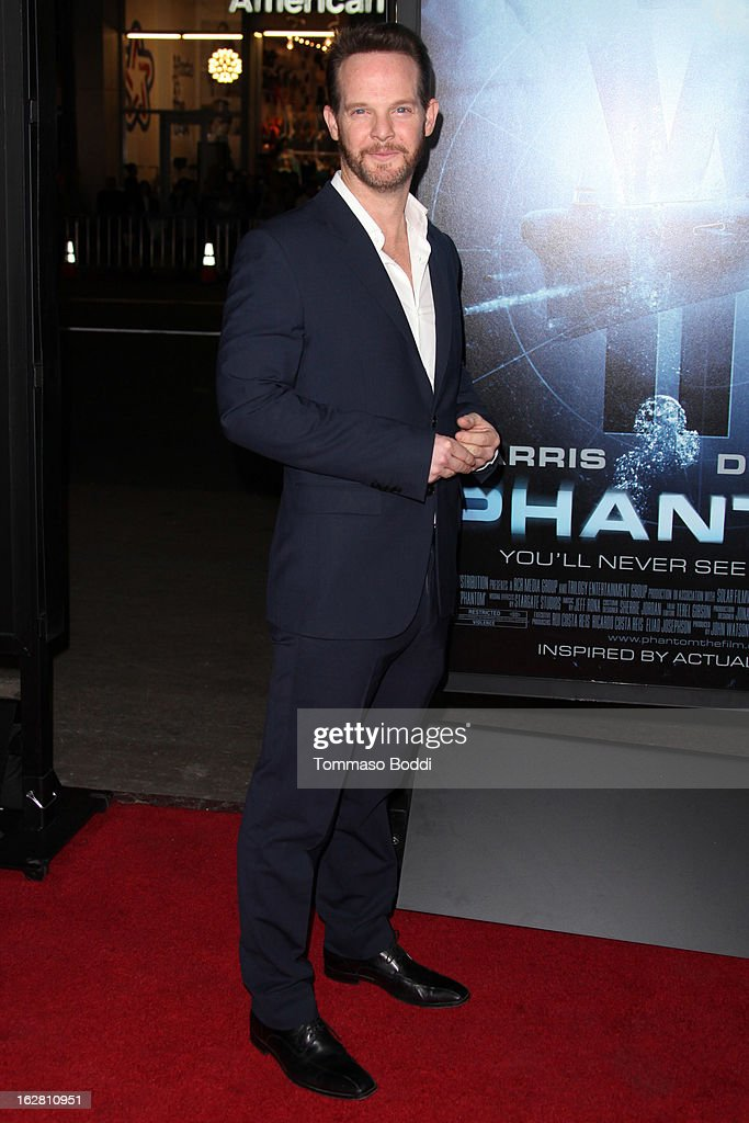 Actor <a gi-track='captionPersonalityLinkClicked' href=/galleries/search?phrase=Jason+Gray-Stanford&family=editorial&specificpeople=572739 ng-click='$event.stopPropagation()'>Jason Gray-Stanford</a> attends the 'Phantom' Los Angeles premiere held at the TCL Chinese Theatre on February 27, 2013 in Hollywood, California.