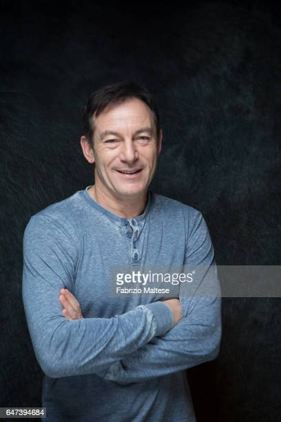 Actor Jason Isaac is photographed for The Hollywood Reporter on February 13 2017 in Berlin Germany