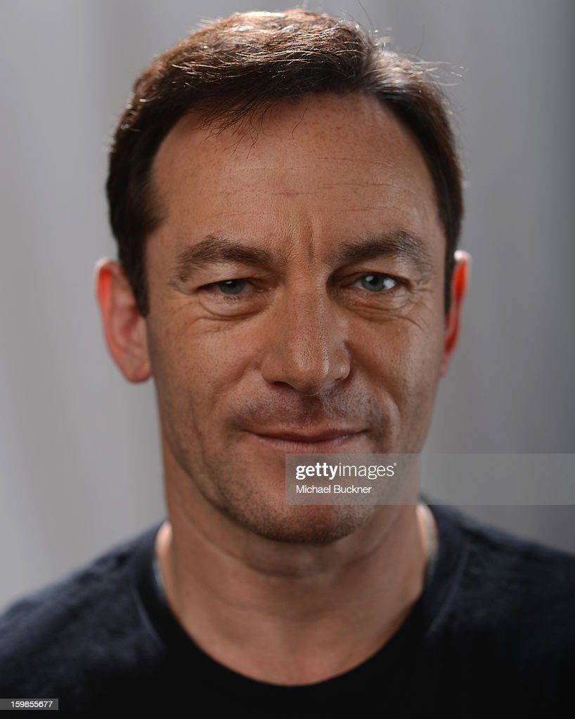 Actor Jason Isaac poses for a portrait at the Photo Studio for MSN Wonderwall at ChefDance on January 21, 2013 in Park City, Utah.