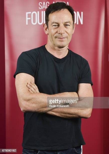 Actor Jason Isaacs attends SAGAFTRA Foundation's conversations with 'The OA' at SAGAFTRA Foundation Screening Room on May 5 2017 in Los Angeles...