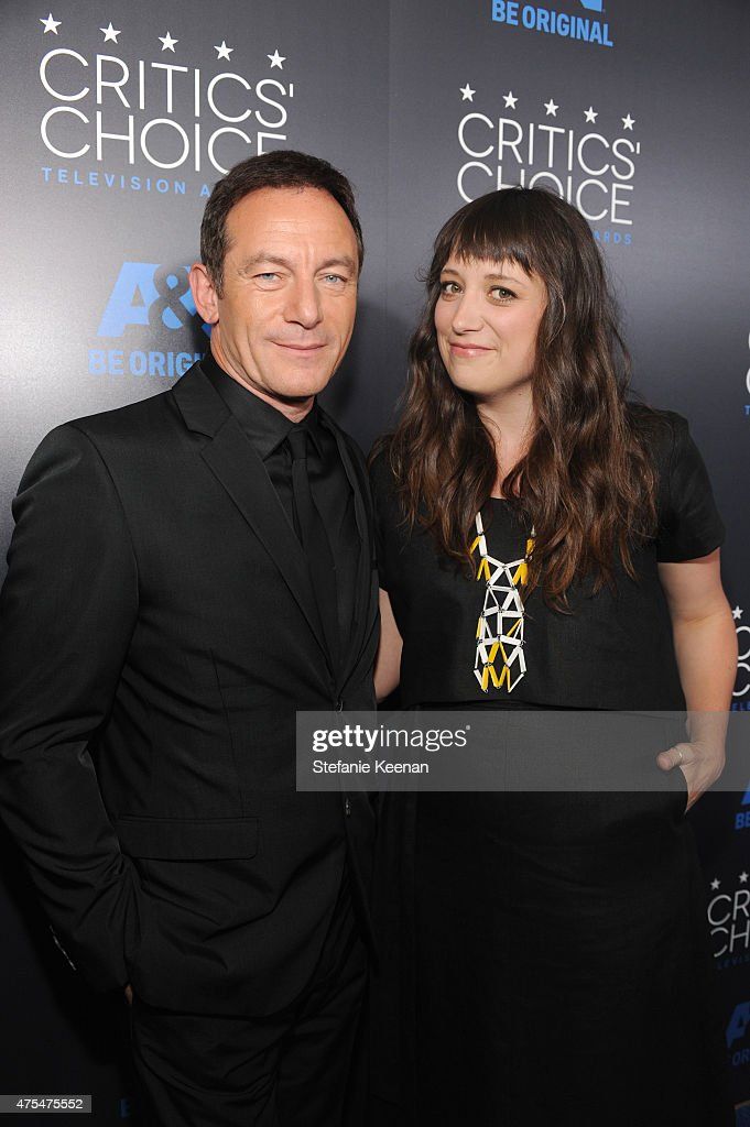 Actor Jason Isaacs (L) attends the 5th Annual Critics' Choice Television Awards at The Beverly Hilton Hotel on May 31, 2015 in Beverly Hills, California.