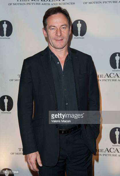 Actor Jason Isaacs attends The Academy Of Motion Picture Arts And Sciences' Hosts The Academy Nicholl Fellowships In Screenwriting Awards at AMPAS...