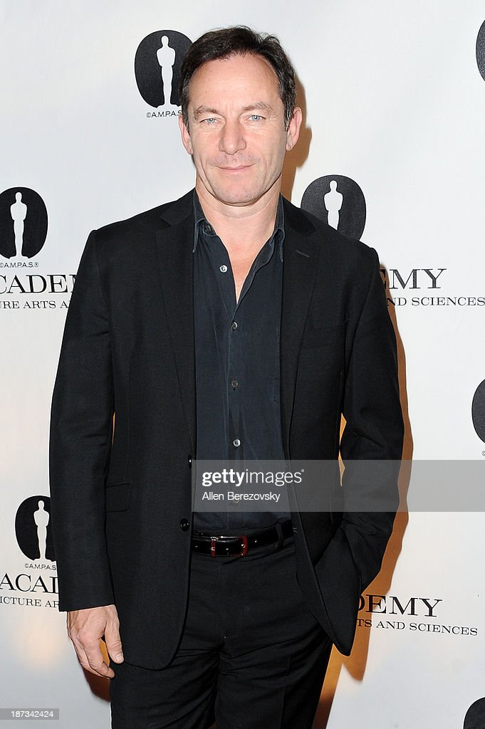 Actor <a gi-track='captionPersonalityLinkClicked' href=/galleries/search?phrase=Jason+Isaacs&family=editorial&specificpeople=212740 ng-click='$event.stopPropagation()'>Jason Isaacs</a> attends the AMPAS Academy Nicholl Fellowships in Screenwriting Awards at AMPAS Samuel Goldwyn Theater on November 7, 2013 in Beverly Hills, California.