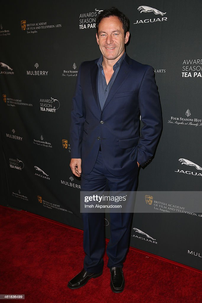 Actor <a gi-track='captionPersonalityLinkClicked' href=/galleries/search?phrase=Jason+Isaacs&family=editorial&specificpeople=212740 ng-click='$event.stopPropagation()'>Jason Isaacs</a> attends the BAFTA LA 2014 Awards Season Tea Party at the Four Seasons Hotel Los Angeles at Beverly Hills on January 11, 2014 in Beverly Hills, California.