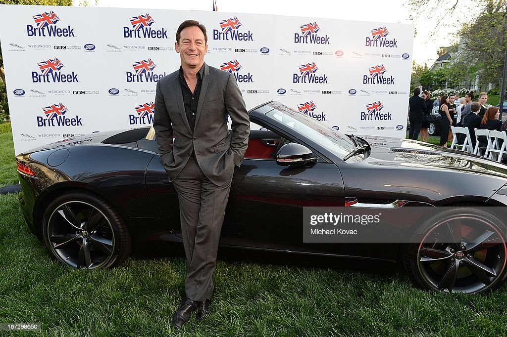Actor Jason Isaacs attends the BritWeek Los Angeles Red Carpet Launch Party with Official Vehicle Sponsor Jaguar on April 23, 2013 in Los Angeles, California.