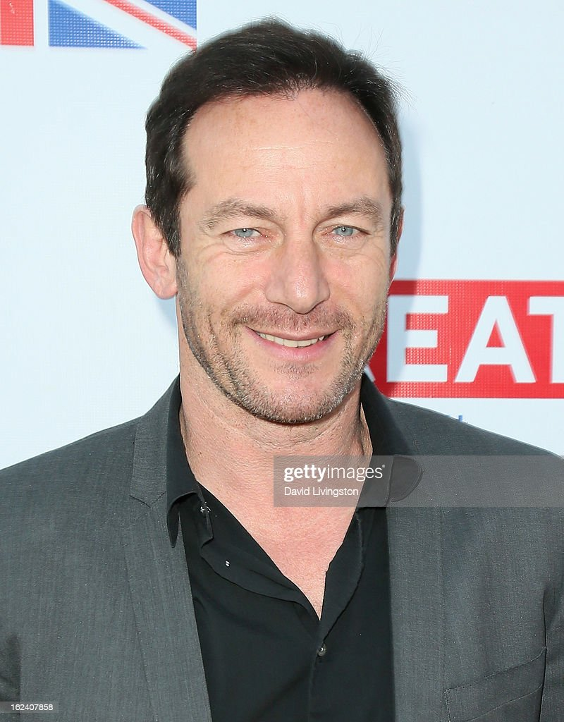 Actor <a gi-track='captionPersonalityLinkClicked' href=/galleries/search?phrase=Jason+Isaacs&family=editorial&specificpeople=212740 ng-click='$event.stopPropagation()'>Jason Isaacs</a> attends the GREAT British Film Reception at the British Consul General's Residence on February 22, 2013 in Los Angeles, California.