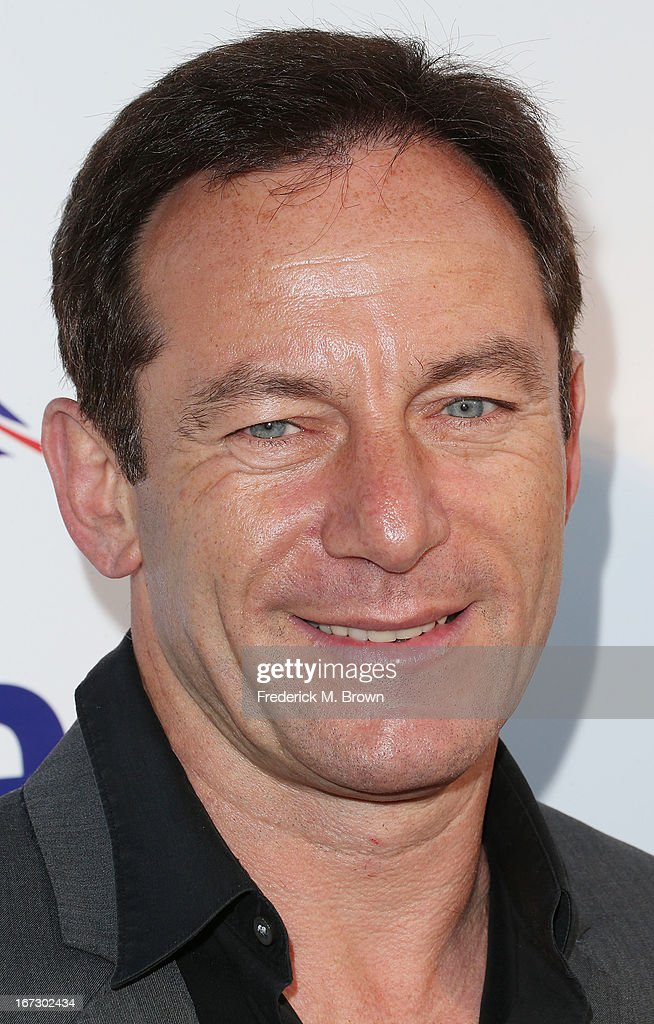 Actor <a gi-track='captionPersonalityLinkClicked' href=/galleries/search?phrase=Jason+Isaacs&family=editorial&specificpeople=212740 ng-click='$event.stopPropagation()'>Jason Isaacs</a> attends the launch of the Seventh Annual Britweek Festival 'A Salute to Old Hollywood' on April 23, 2013 in Los Angeles, California.