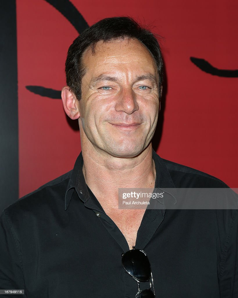 Actor Jason Isaacs attends the one year anniversary celebration for the WIGS digital channel at Akasha Restaurant on May 2, 2013 in Culver City, California.