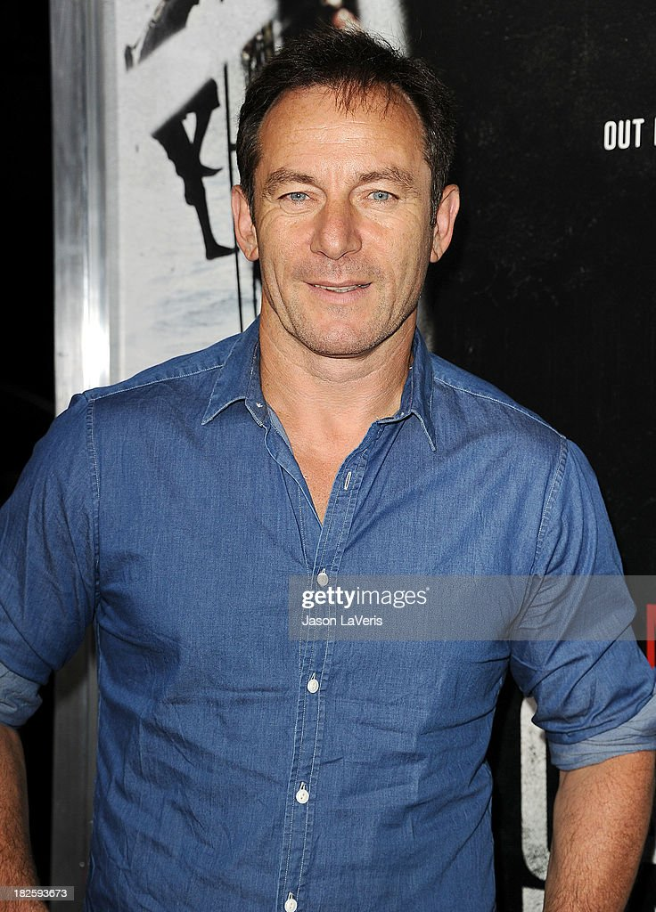 Actor <a gi-track='captionPersonalityLinkClicked' href=/galleries/search?phrase=Jason+Isaacs&family=editorial&specificpeople=212740 ng-click='$event.stopPropagation()'>Jason Isaacs</a> attends the premiere of 'Captain Phillips' at the Academy of Motion Picture Arts and Sciences on September 30, 2013 in Beverly Hills, California.