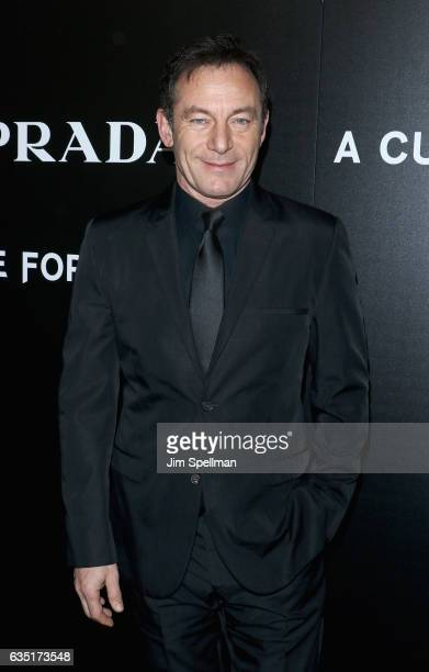 Actor Jason Isaacs attends the screening of 'A Cure for Wellness' hosted by 20th Century Fox and Prada at Landmark's Sunshine Cinema on February 13...