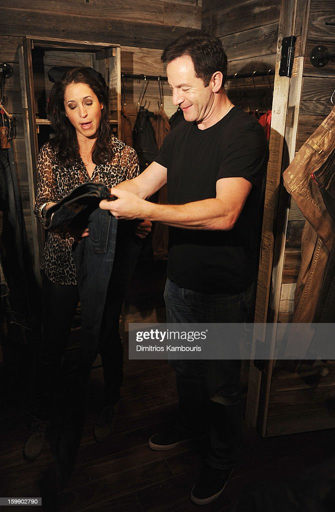 Actor Jason Isaacs attends the Sweetwater official cast and filmmakers party sponsored by True Religion on January 22, 2013 in Park City, Utah.