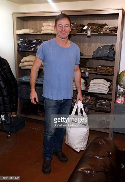 Actor Jason Isaacs attends The Variety Studio At Sundance Presented By Dockers on January 25 2015 in Park City Utah