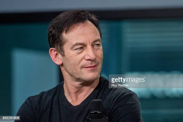 Actor Jason Isaacs discusses 'A Cure For Wellness' with The Build Series at Build Studio on February 14 2017 in New York City