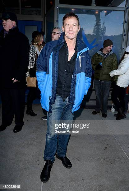 Actor Jason Isaacs is seen on January 23 2015 in Park City Utah