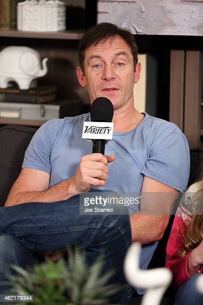 Actor Jason Isaacs speaks at The Variety Studio At Sundance Presented By Dockers on January 25 2015 in Park City Utah