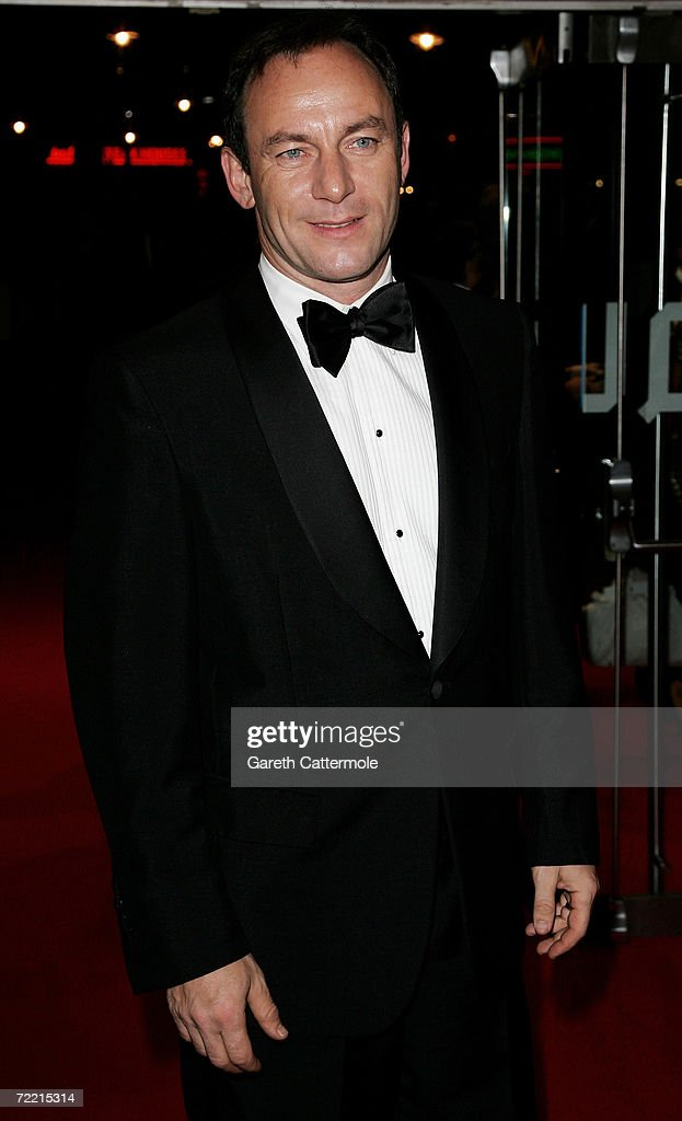 Actor Jason Issacs arrives at the UK Premiere of 'The Last King Of Scotland' as the opening gala during The Times BFI London Film Festival, at the Odeon Leicester Square on October 19, 2006 in London, England. The film kicks off the annual film festival, which runs from October 19 to November 2.