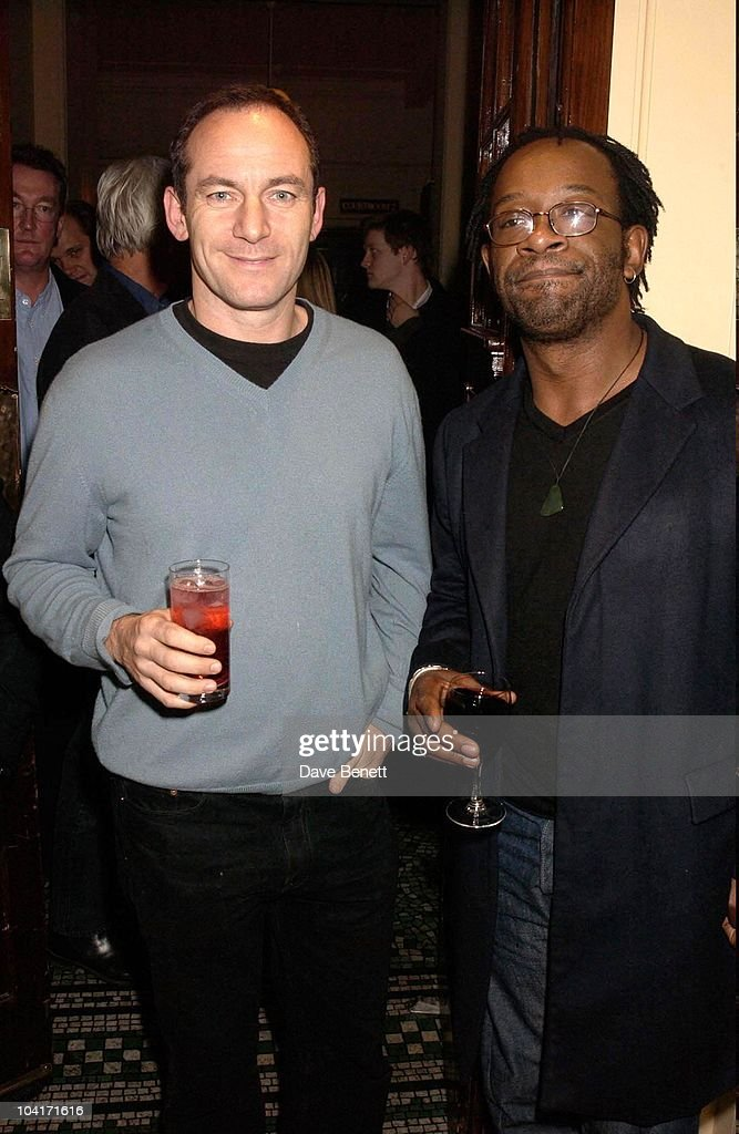 Actor Jason Issacs Who Finds Himself Very Busy At The Moment. He S Got The Role Of Captain Hook In The Latest Film Adaptation Of Jm Barrie S Peter Pan, After Party For Lenny Henry S First Night, At Browns In St Martins Lane, London