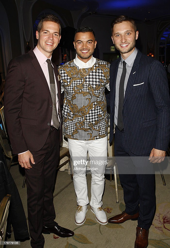 Actor Jason Kennedy, singer <a gi-track='captionPersonalityLinkClicked' href=/galleries/search?phrase=Guy+Sebastian&family=editorial&specificpeople=202665 ng-click='$event.stopPropagation()'>Guy Sebastian</a>, and Generosity Water CEO Jordan Wagner attend Generosity Water presents the 5th Annual Night Of Generosity at Beverly Hills Hotel on September 6, 2013 in Beverly Hills, California.